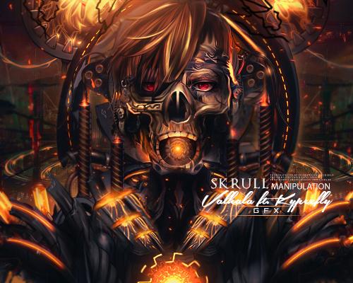 [| X |] Kypexfly . {2012 - 2014} Manipulacion_skull_by_kypexfly-d7m4b60