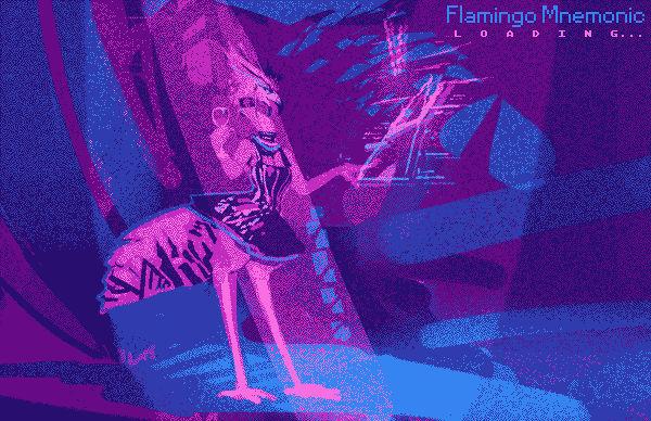 Flamingo Mnemonic loading screen