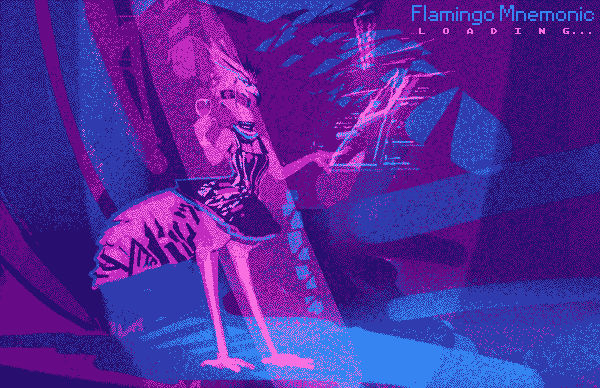 Flamingo Mnemonic loading screen