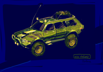 oCe Wagon by turbinedivinity