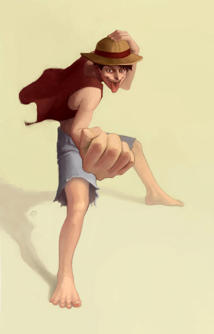 Monkey D. Luffy by misha-dragonov