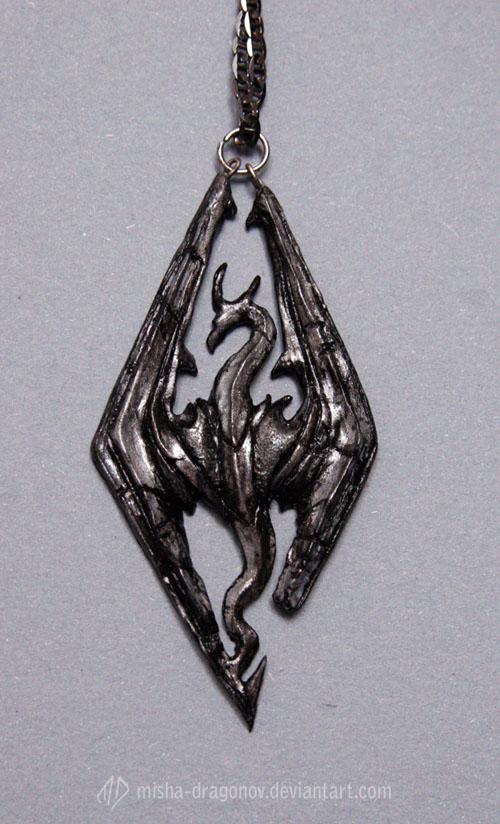 Skyrim pendant by misha-dragonov