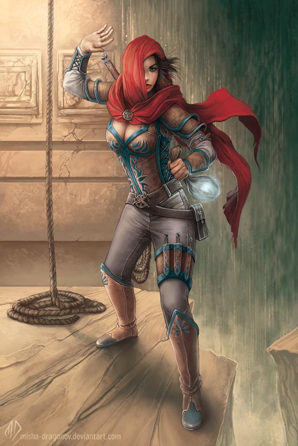 The Wanderers : Thief by misha-dragonov