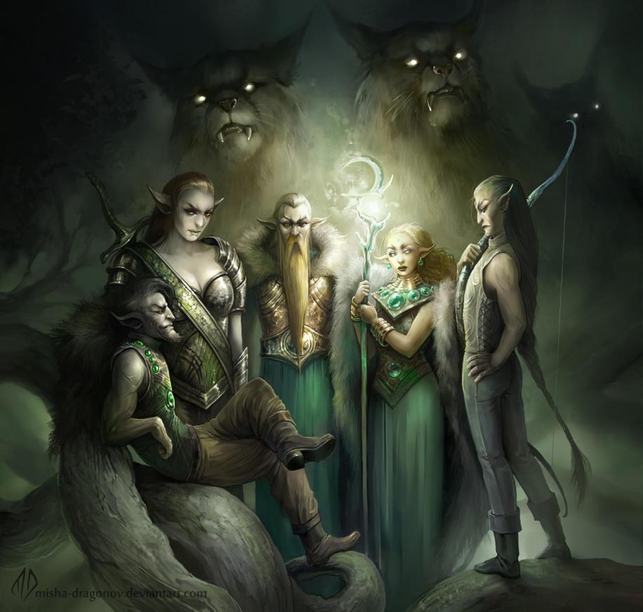 Protectors Of Terawyn by misha-dragonov