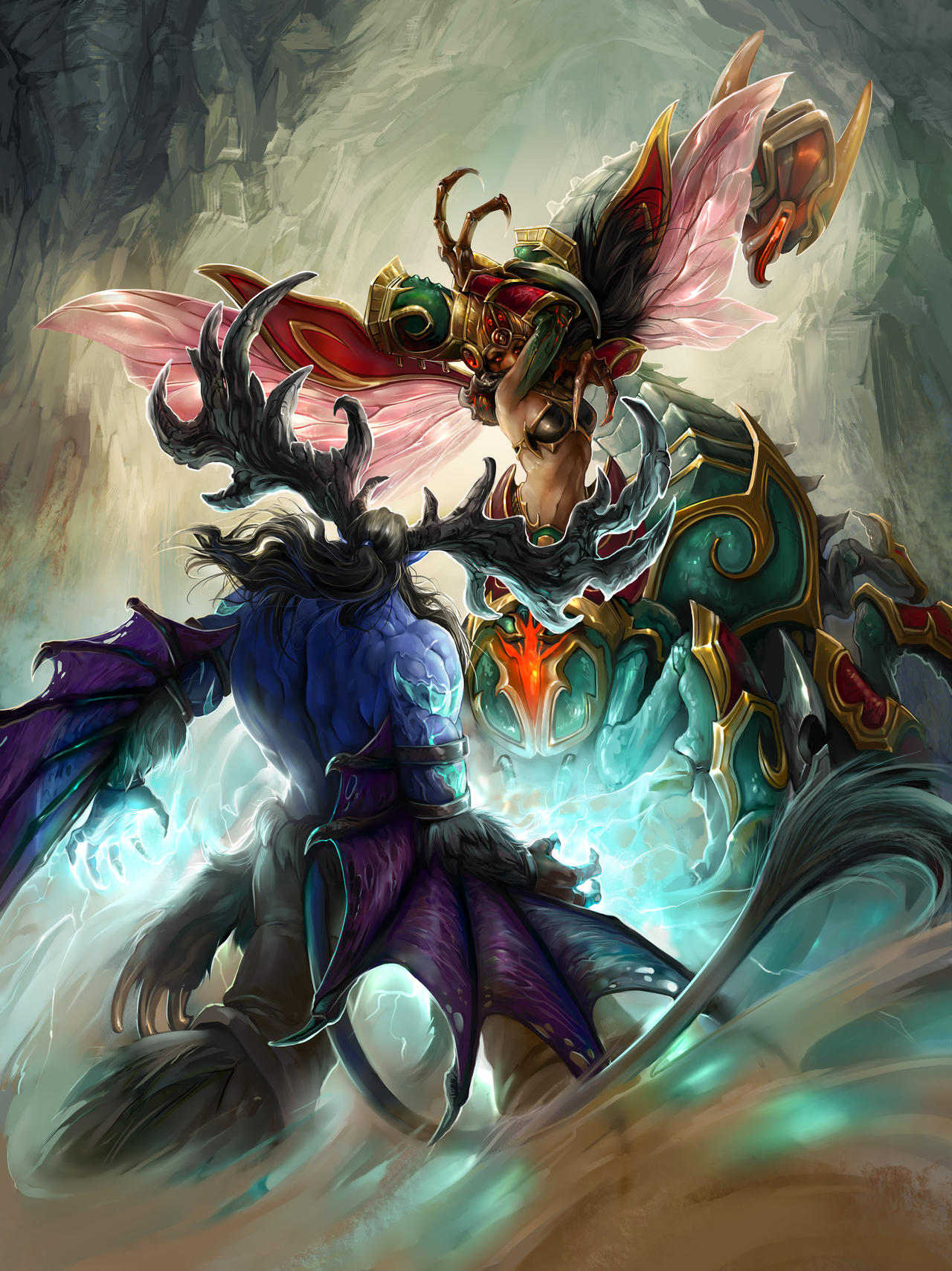 Zagara Vs Malfurion By Misha Dragonov On Deviantart Particularly specialists i remember one game on cursed hollow where we had murky + abathur and the other team had zagara + xul. zagara vs malfurion by misha dragonov
