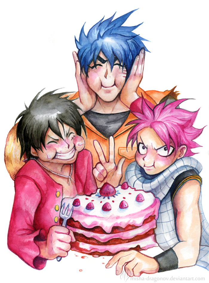 Let`s eat  cake! by misha-dragonov