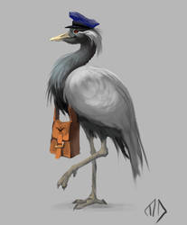 021 Crane the Mailman