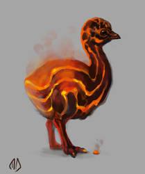 022 Volcanic Emu
