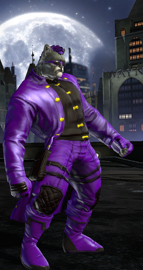 My DC universe online Char Front View by TheW0lfen