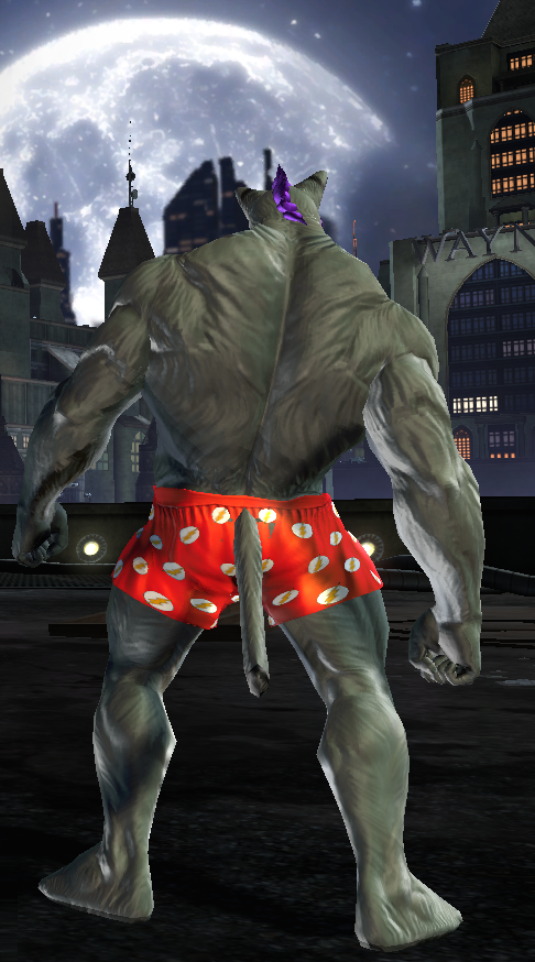 My YiffY DC universe online Char Back View by TheW0lfen