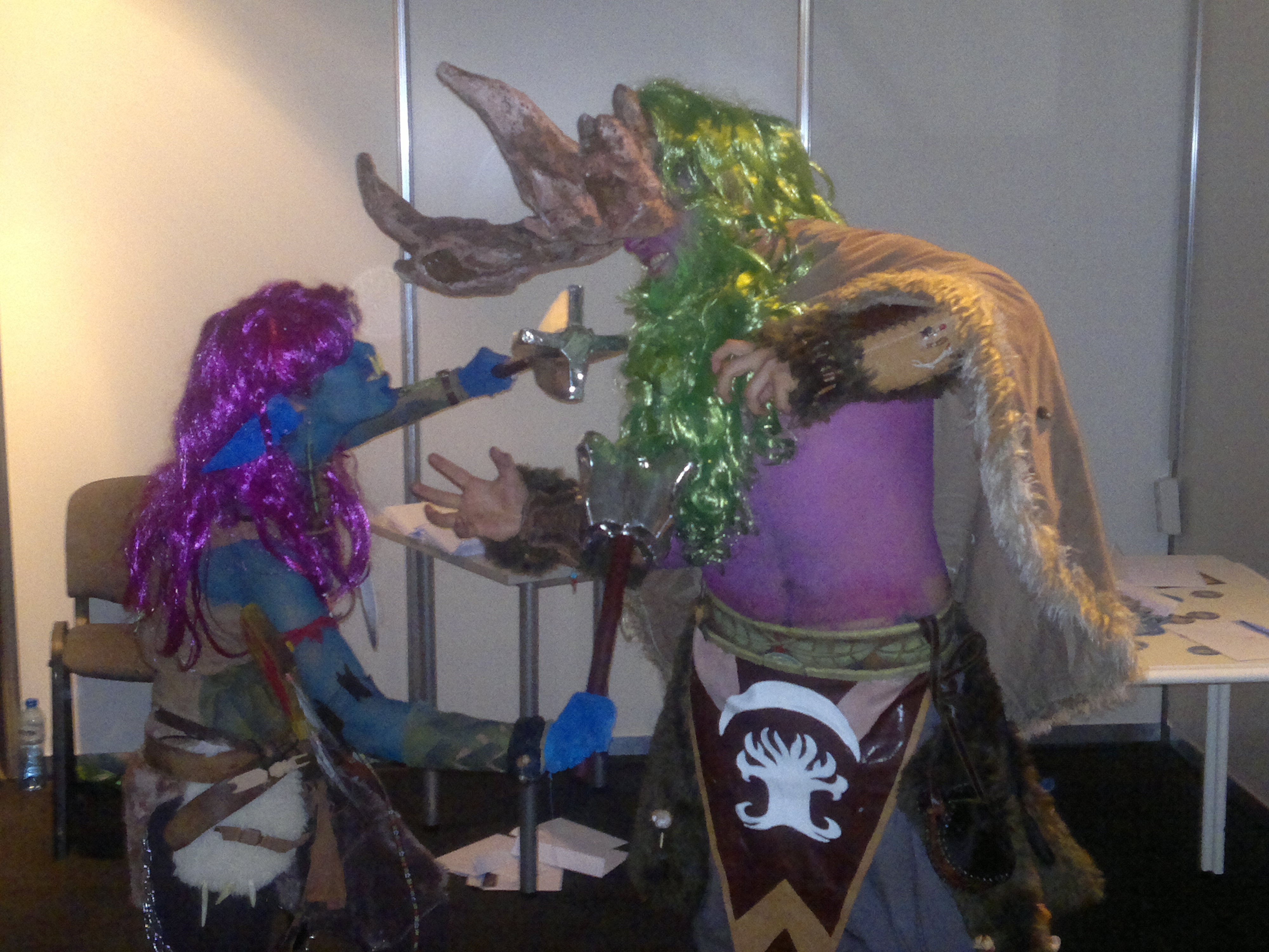 Shaman vs Storm rage cosplay by TheW0lfen on DeviantArt