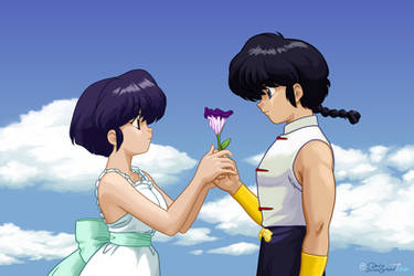 Ranma and Akane - Love Panic!