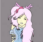 anime girl by Hanahirai