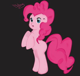 Pinkie pie by Hanahirai