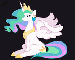 Princess celestia by Hanahirai