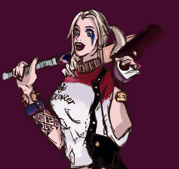 Harley Quinn by Hanahirai