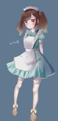 butaxd maid ver. by bakariume
