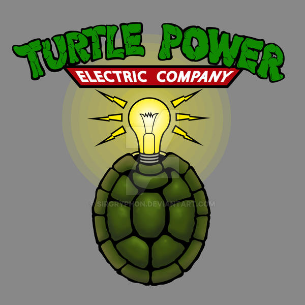 Turtle Power by SirGryphon