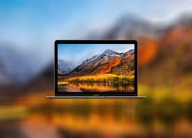 MacOS high Sierra wallpaper mod