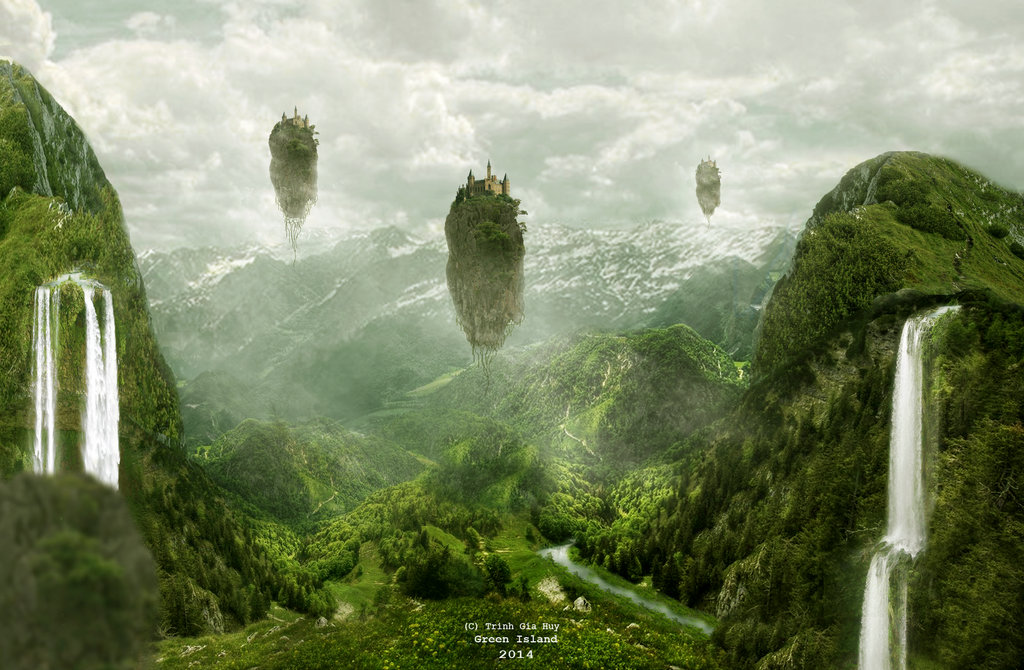 Green Island- ART DU THI EVENT DESIGN 2014 ROUND 2 by leebo-zing-ddh