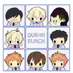 Ouran Bunch by tinat8m
