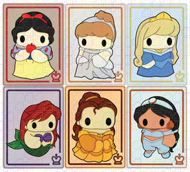 Disney Princesses by tinat8m