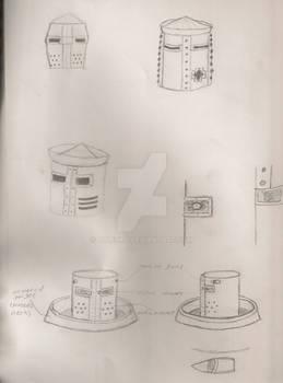 All-Terrain Suit head concept