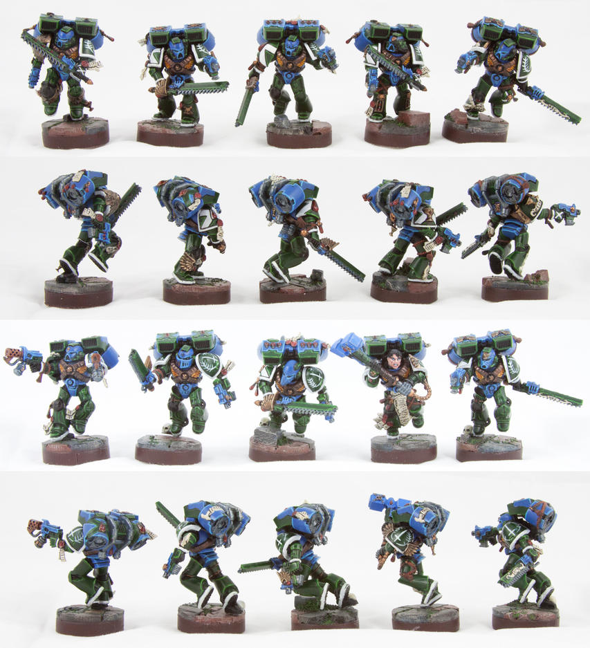 Assault Squad Traelus by Allerka