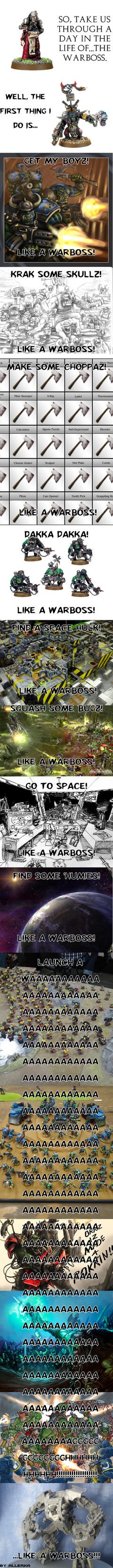 Like a Warboss by Allerka