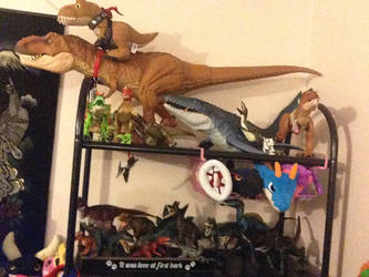 Some Of Ma Dino Collection by Psychomagician24