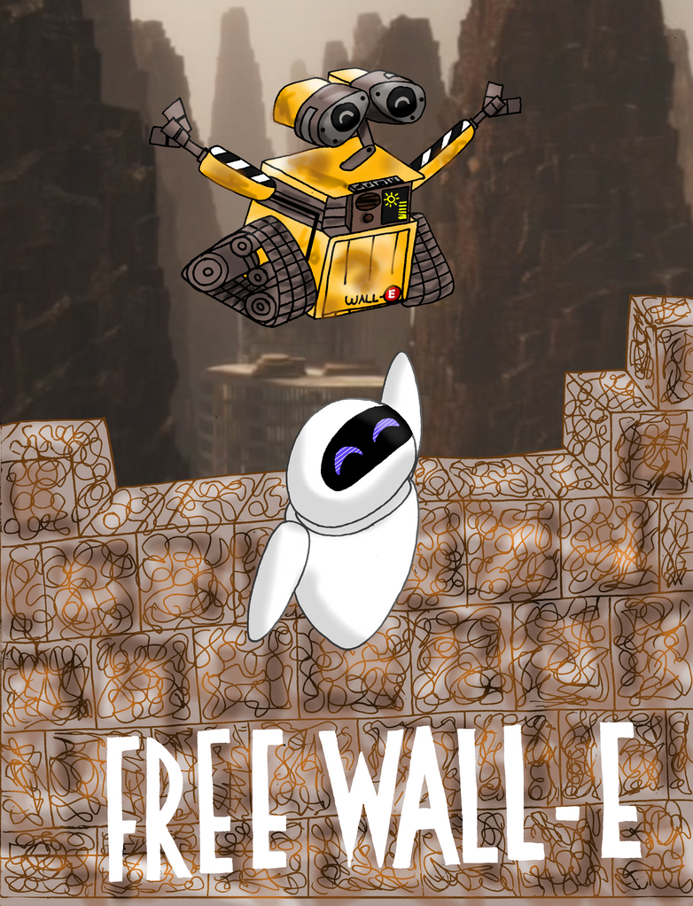 free wall e by the real wall e on deviantart
