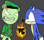 Sonic VS Flippy