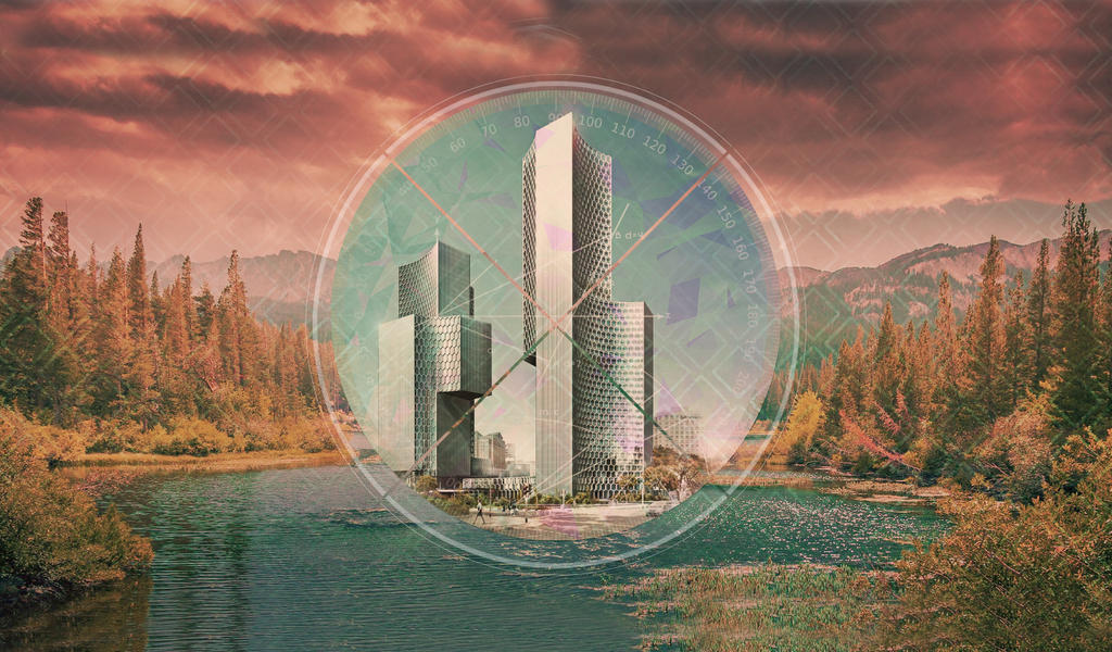 Polyscape by BrouhahaBazaar