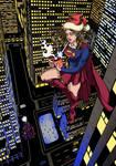 Supergirl Xmas by BroetchenX
