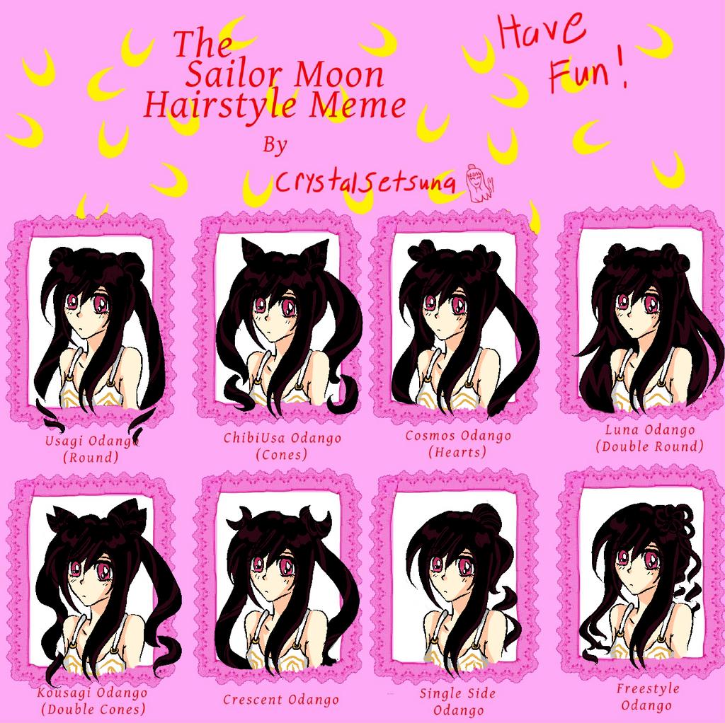 Sailor Moon Hair Meme By Alicesanthus On DeviantArt - Hairstyle drawing meme