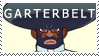 Garterbelt Stamp by LonnKev
