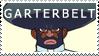 Garterbelt Stamp by LonnKev