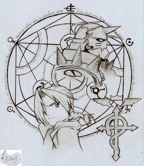 Fullmetal Alchemist Coloring Pages