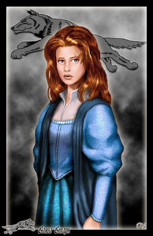 Sansa Stark by Amok by Xtreme1992