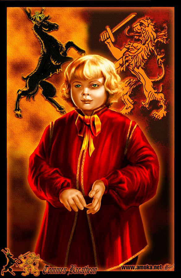 Tommen baratheon by amok by xtreme1992 on deviantart for King s fish house corona