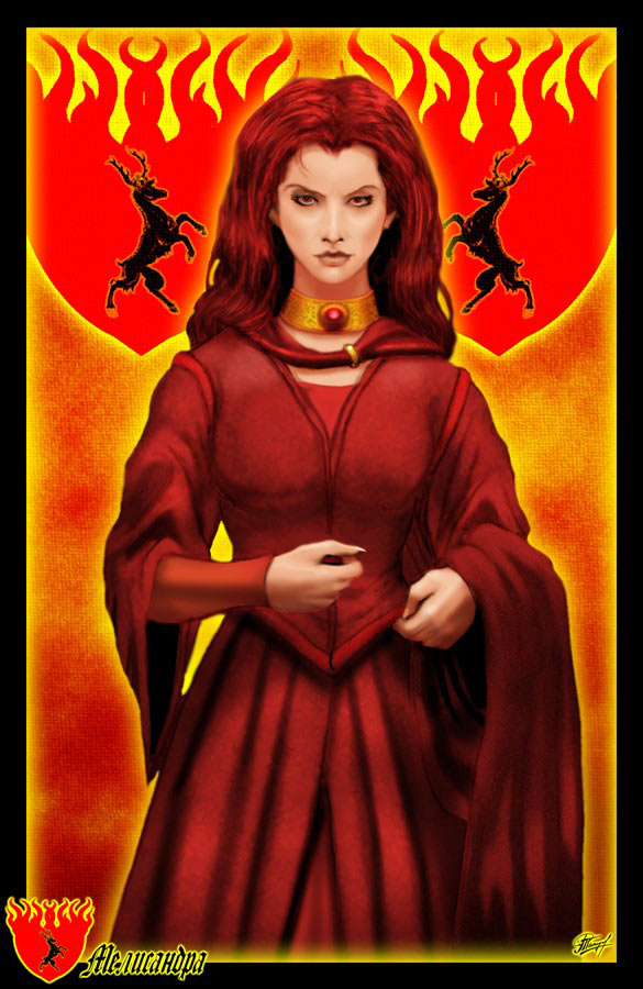 Melisandre by Amok by Xtreme1992