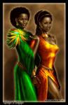Chataya and Alayaya by Amok