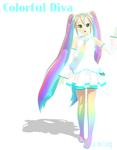 MMD - Colorful Diva