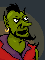 Portrait goblin by WeaverOK