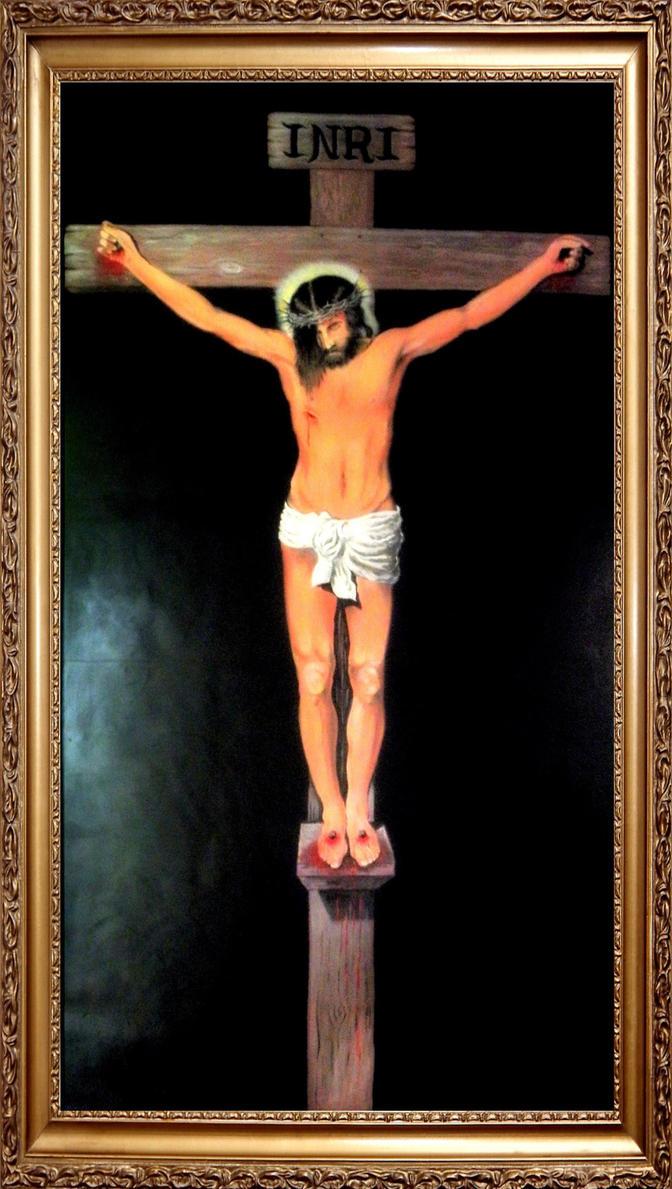 Cristo en la Cruz by CelsoDuarte