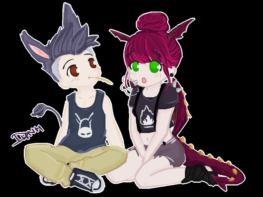 donkey and dragon sextoon