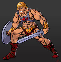 He-Man by EtherealDC