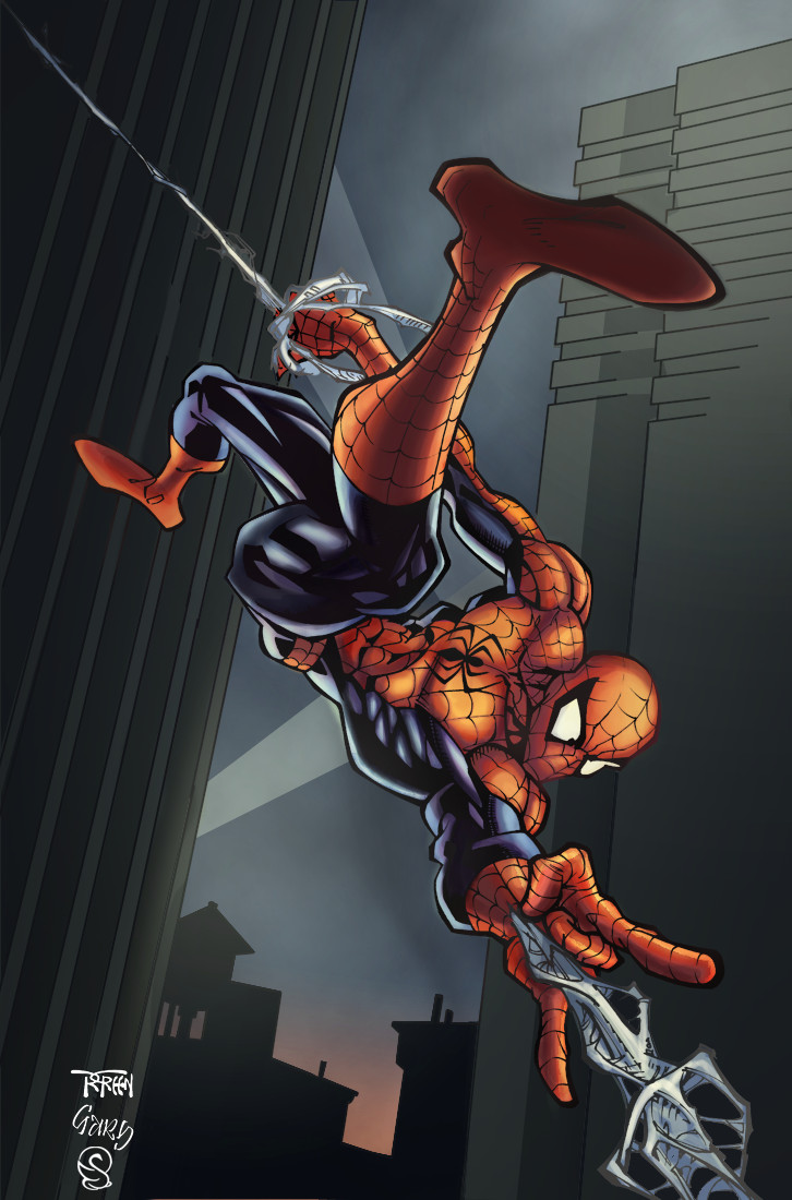Spiderman by Eddy-Swan-Colors