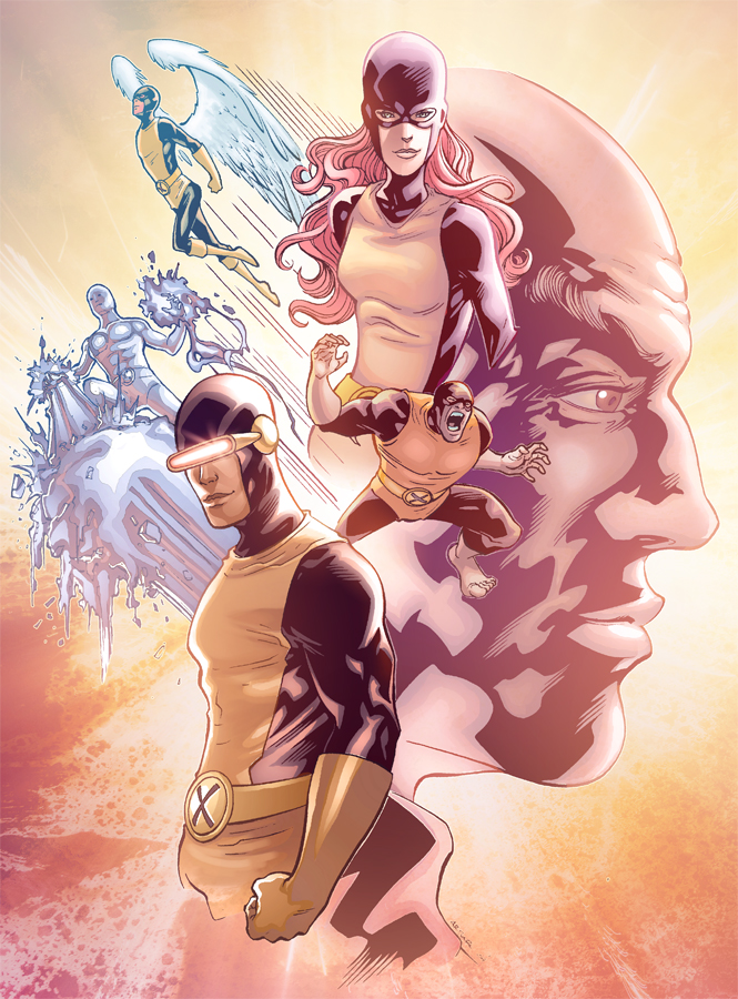 Classic X-men by Eddy-Swan-Colors