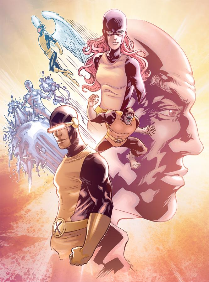Classic X-men by Eddy-Swan-Colors